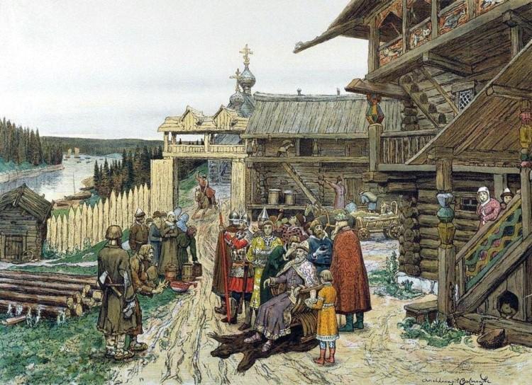 художник Аполлинарий Васнецов картины – 09