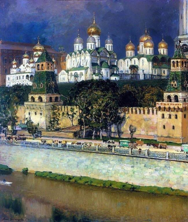художник Аполлинарий Васнецов картины – 11
