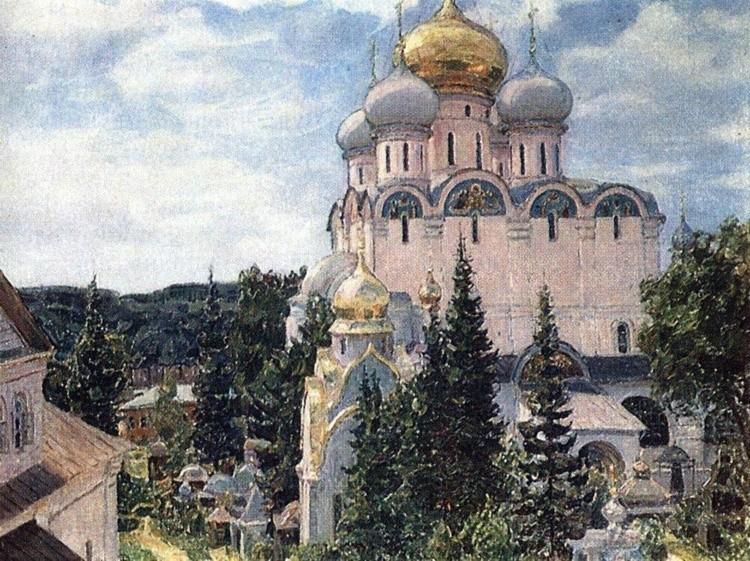 художник Аполлинарий Васнецов картины – 12