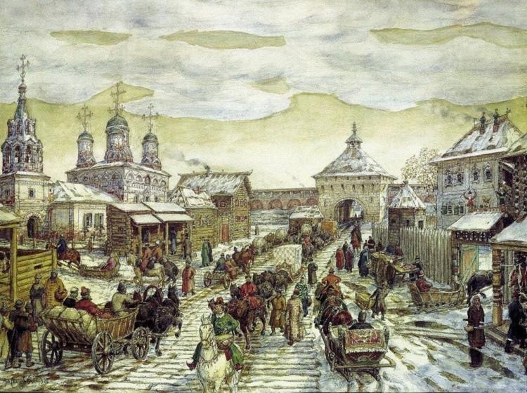 художник Аполлинарий Васнецов картины – 15