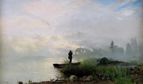 художник Арвид Мауриц Линдстрем (Arvid Mauritz Lindstrom) картины – 13