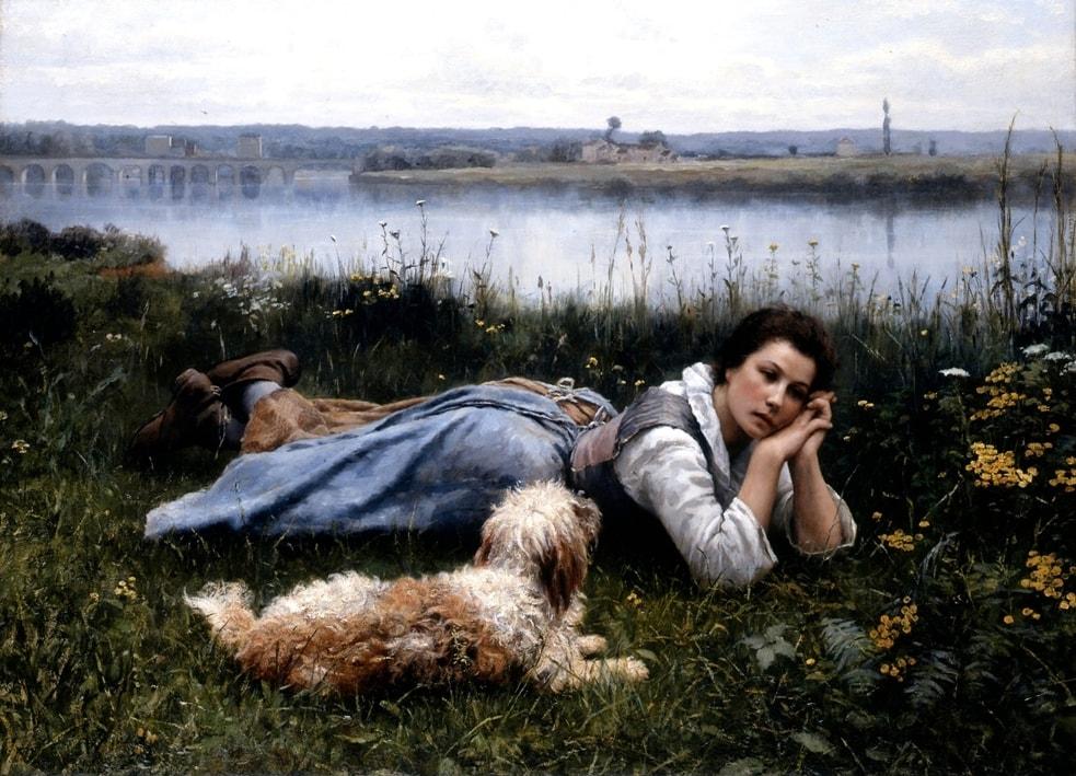 Художник Daniel Ridgway Knight (1839 – 1924)
