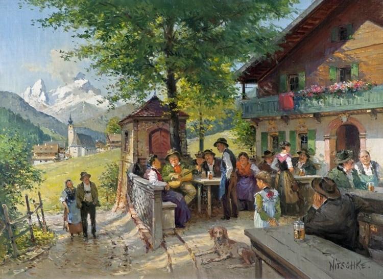 художник Detlev Nitschke (Детлев Ницшке) картины – 13