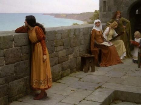 художник Эдмунд Блэр Лейтон (Edmund Blair Leighton) картины – 23
