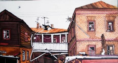 художник Екатерина Просёлкова картины – 06