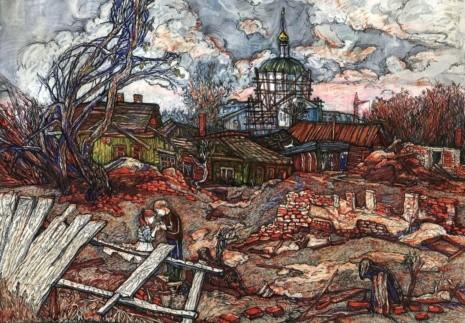 художник Екатерина Просёлкова картины – 27