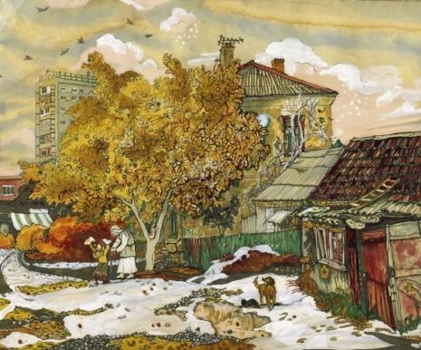 художник Екатерина Просёлкова картины – 30