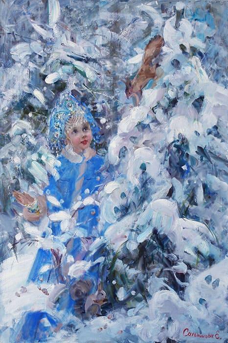 художник Елена Сальникова картины – 30