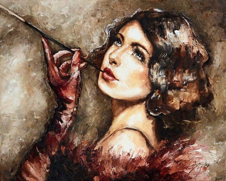 художник Эльжбета Брожек (Elzbieta Brozek) картины – 02