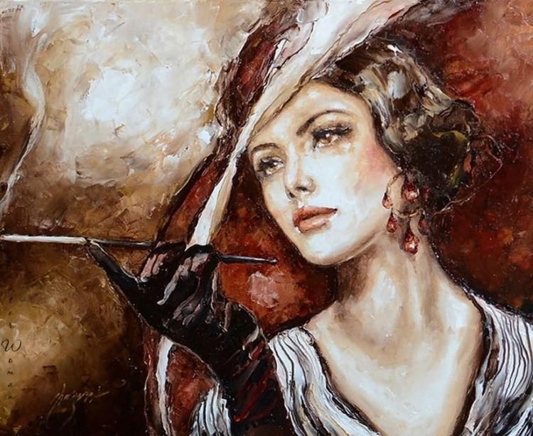 художник Эльжбета Брожек (Elzbieta Brozek) картины – 04
