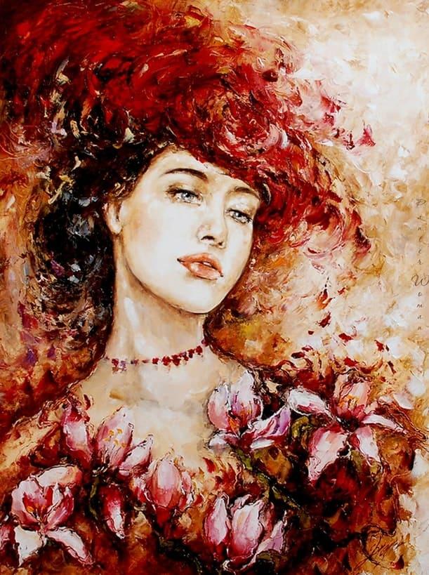 художник Эльжбета Брожек (Elzbieta Brozek) картины – 09