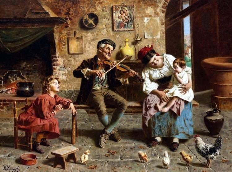 художник Эугенио Эдуардо Дзампиги (Eugenio Eduardo Zampighi) картины – 03