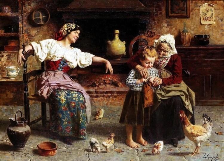 художник Эугенио Эдуардо Дзампиги (Eugenio Eduardo Zampighi) картины – 09