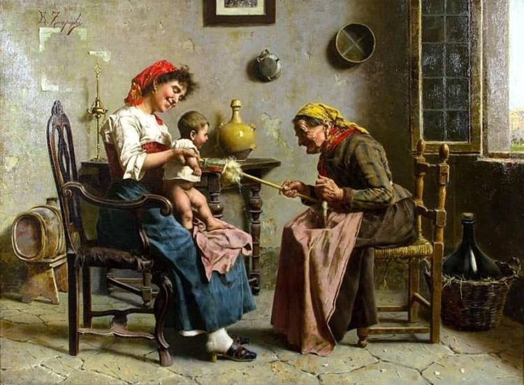 художник Эугенио Эдуардо Дзампиги (Eugenio Eduardo Zampighi) картины – 10