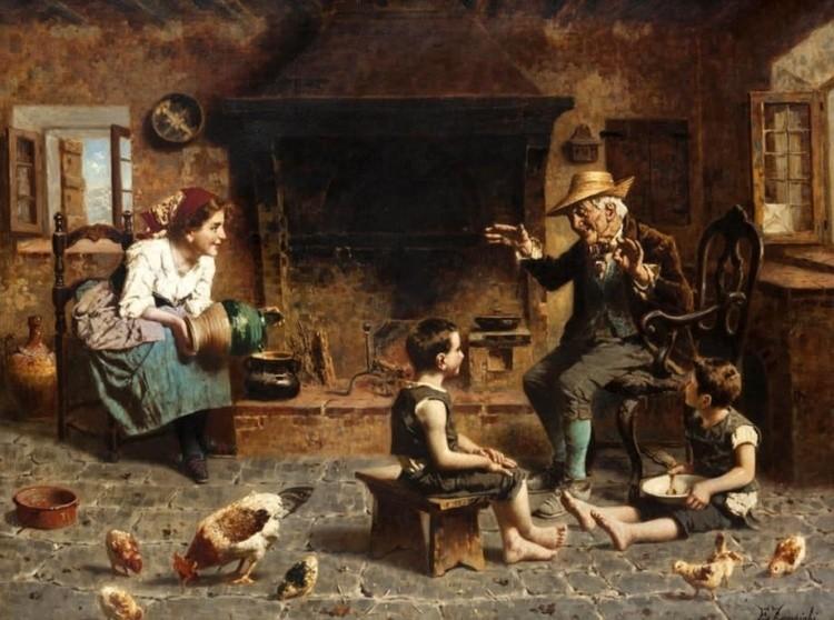 художник Эугенио Эдуардо Дзампиги (Eugenio Eduardo Zampighi) картины – 11