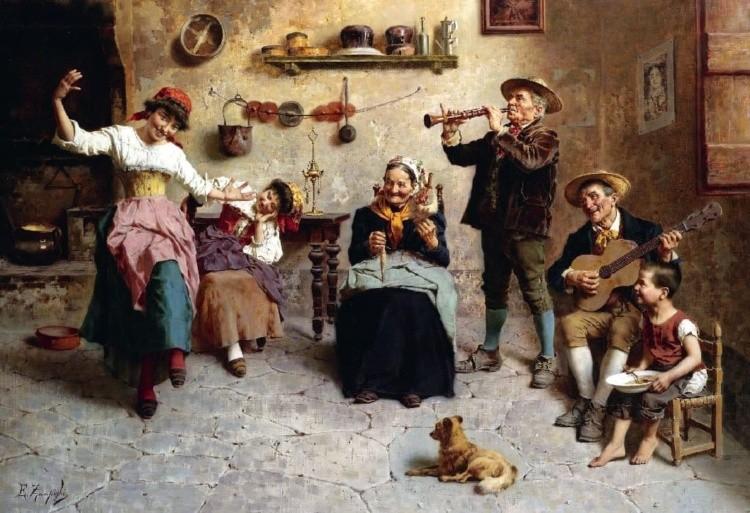 художник Эугенио Эдуардо Дзампиги (Eugenio Eduardo Zampighi) картины – 12