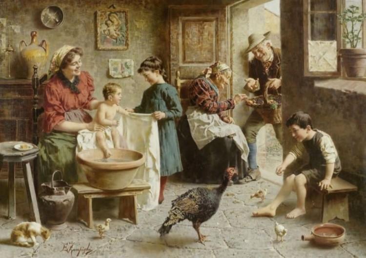 художник Эугенио Эдуардо Дзампиги (Eugenio Eduardo Zampighi) картины – 13