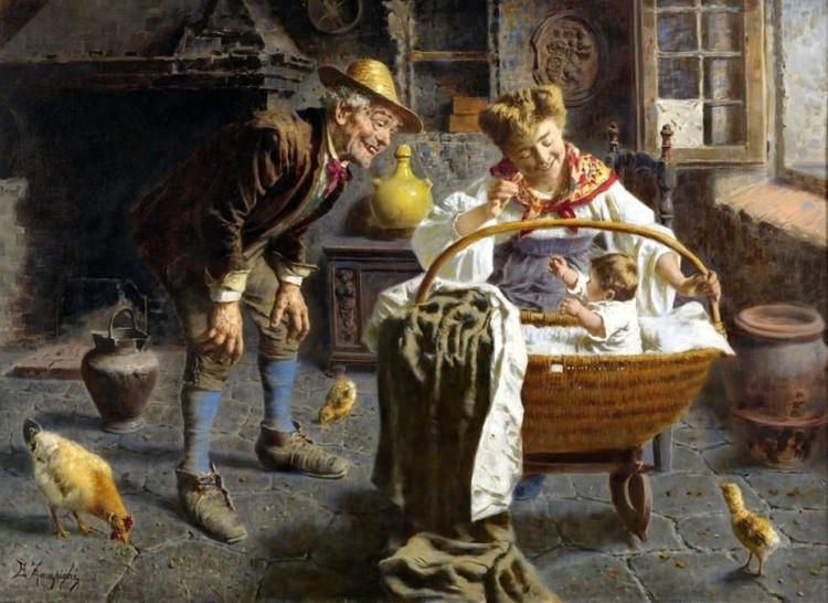 художник Эугенио Эдуардо Дзампиги (Eugenio Eduardo Zampighi) картины – 14