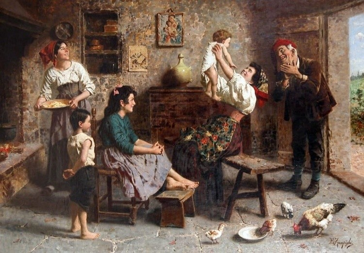 художник Эугенио Эдуардо Дзампиги (Eugenio Eduardo Zampighi) картины – 15