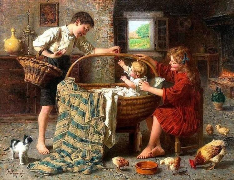 художник Эугенио Эдуардо Дзампиги (Eugenio Eduardo Zampighi) картины – 16