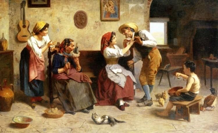художник Эугенио Эдуардо Дзампиги (Eugenio Eduardo Zampighi) картины – 17
