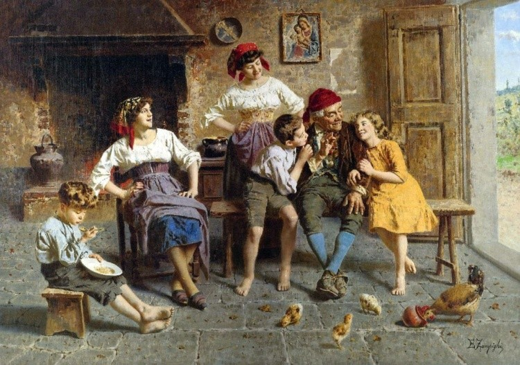художник Эугенио Эдуардо Дзампиги (Eugenio Eduardo Zampighi) картины – 18