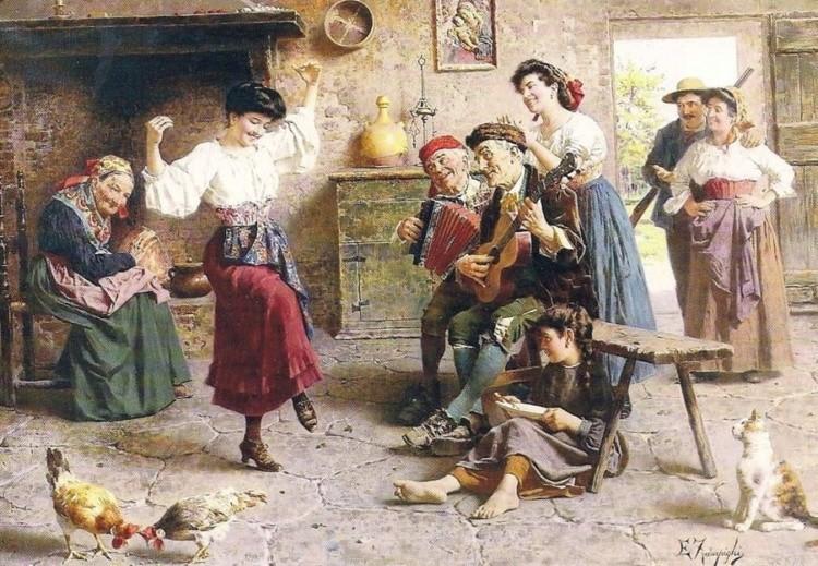 художник Эугенио Эдуардо Дзампиги (Eugenio Eduardo Zampighi) картины – 19