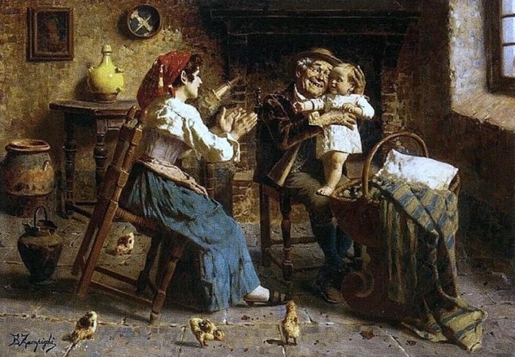 художник Эугенио Эдуардо Дзампиги (Eugenio Eduardo Zampighi) картины – 21