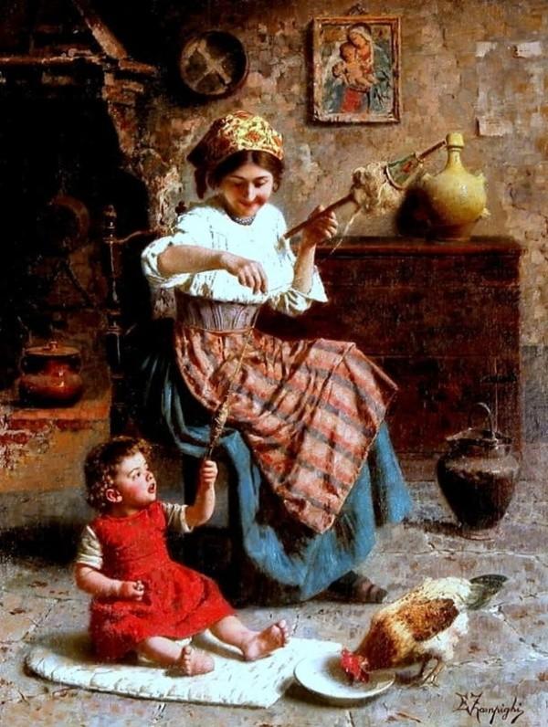 художник Эугенио Эдуардо Дзампиги (Eugenio Eduardo Zampighi) картины – 22