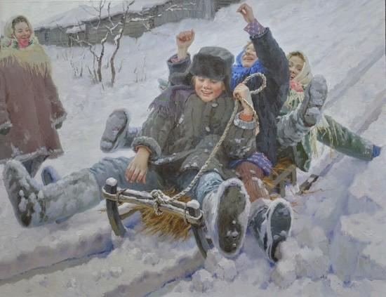 художник Евгений Балакшин картины – 08