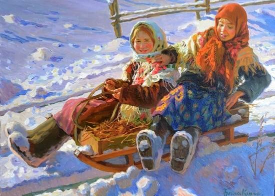 художник Евгений Балакшин картины – 11