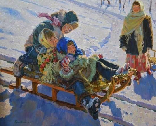 художник Евгений Балакшин картины – 14