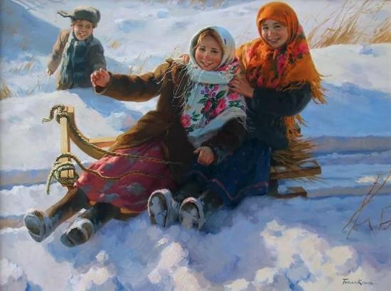 художник Евгений Балакшин картины – 18