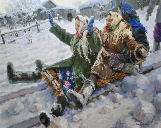 художник Евгений Балакшин картины – 21