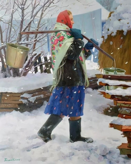 художник Евгений Балакшин картины – 24