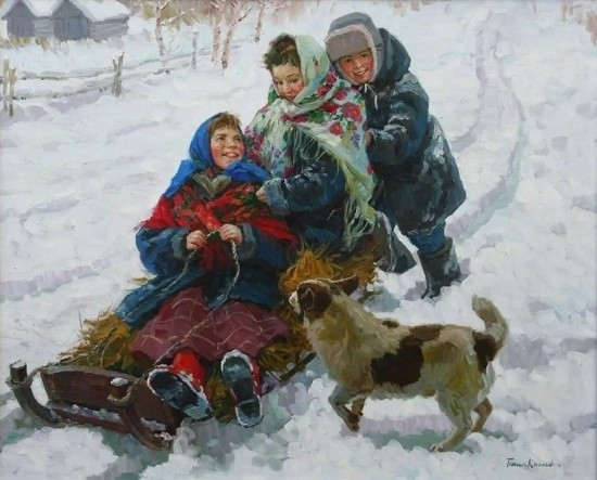 художник Евгений Балакшин картины – 25