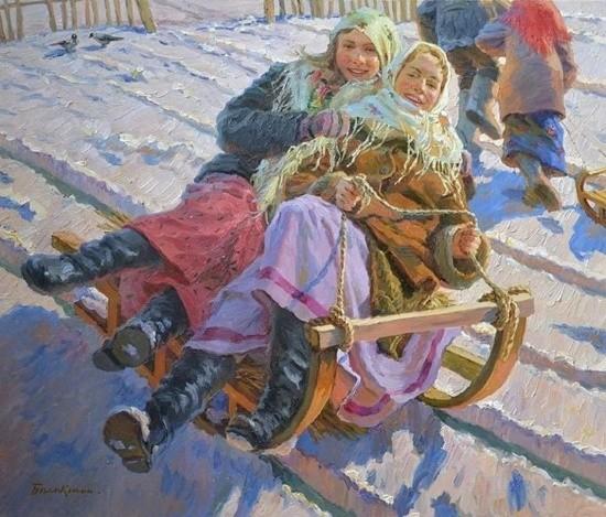 художник Евгений Балакшин картины – 28