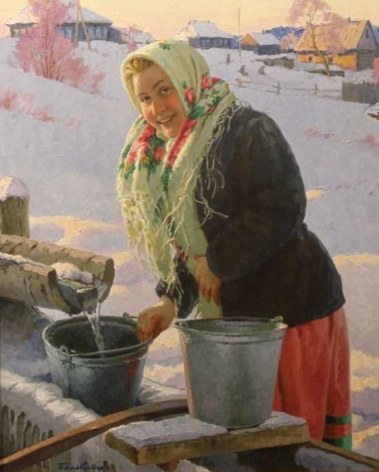 художник Евгений Балакшин картины – 30