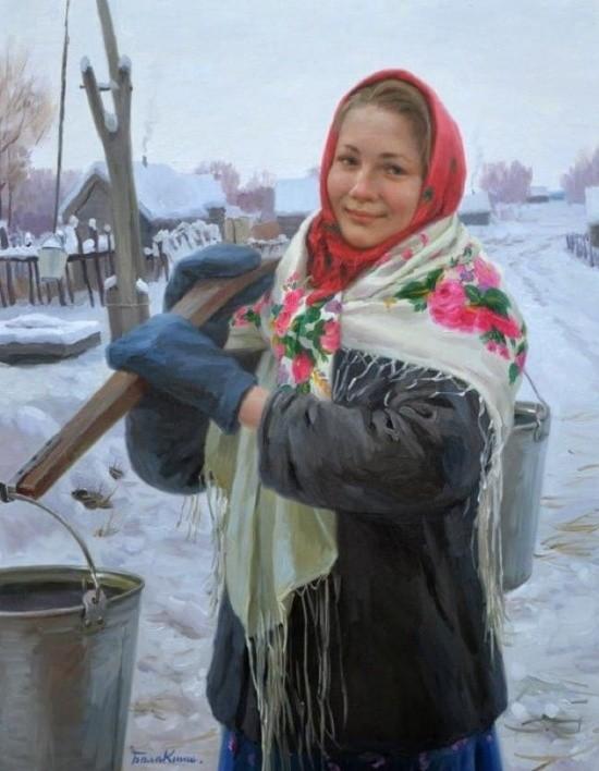 художник Евгений Балакшин картины – 36