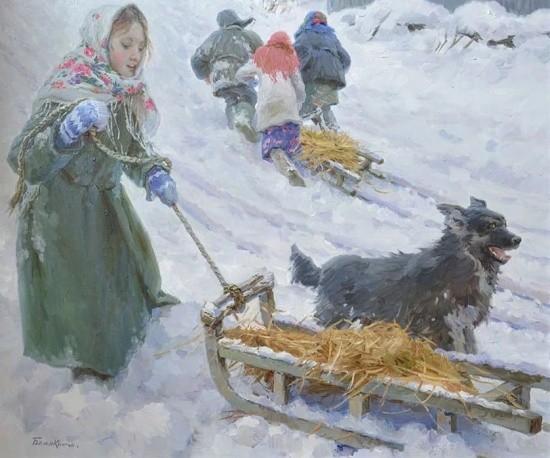 художник Евгений Балакшин картины – 39