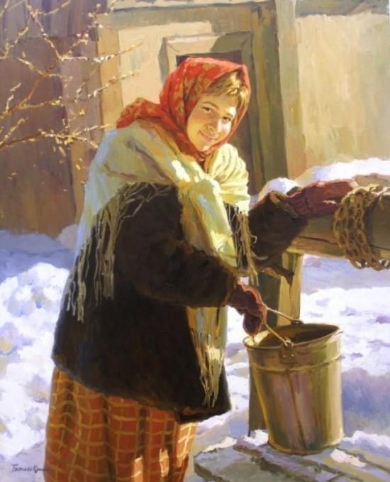 художник Евгений Балакшин картины – 41