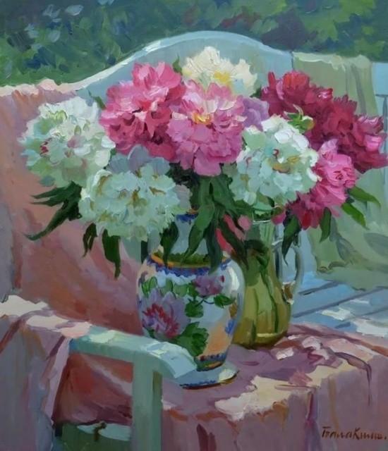 художник Евгений Балакшин картины – 45