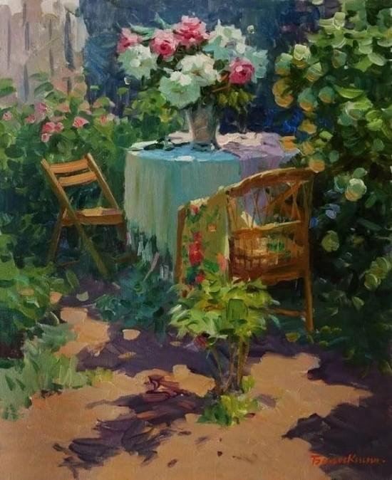 художник Евгений Балакшин картины – 46