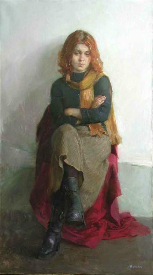 художник Евгений Монахов картины – 41