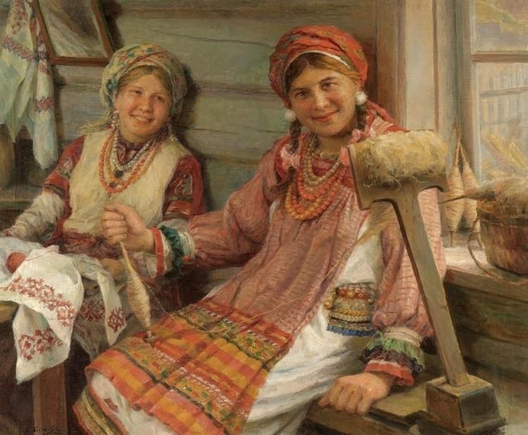 художник Федот Сычков картины – 16