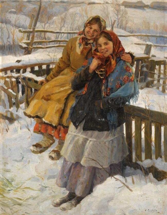 художник Федот Сычков картины – 27