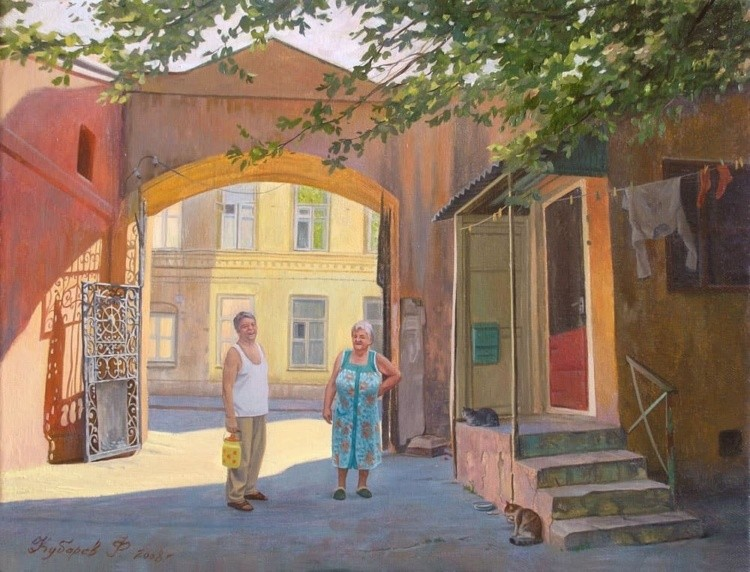 художник Филипп Кубарев картины – 20