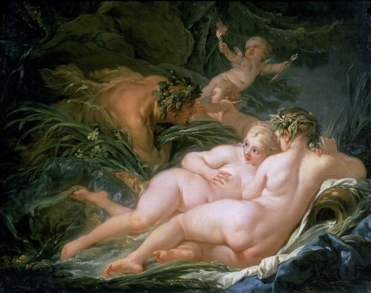 художник Франсуа Буше (Francois Boucher) картины – 12