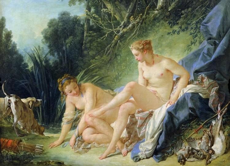 художник Франсуа Буше (Francois Boucher) картины – 14