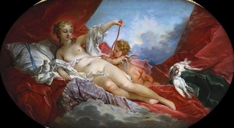 художник Франсуа Буше (Francois Boucher) картины – 16